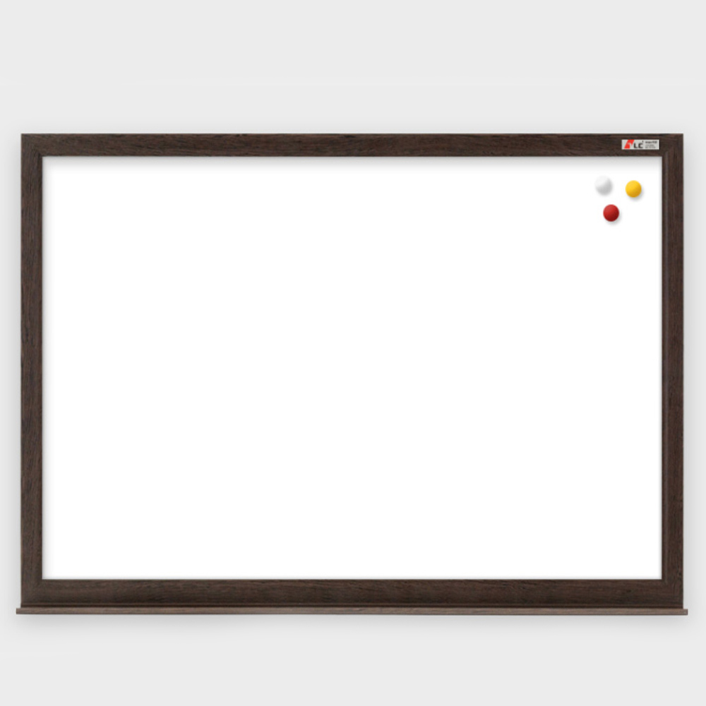 코르크 게시판 웬지프레임(사이즈 60cm x 45cm) AQE-5741 [제작 대량구매 로고인쇄 문의는 네이뽕] wd_AQE