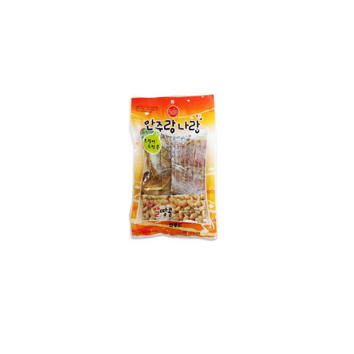 [현재분류명],180822AQE-6850 썬푸드 오징어땅콩 75g x 5개 술안주나 아이들 영양간식으로도 일품,간식,마른,안주,자반,안주도매